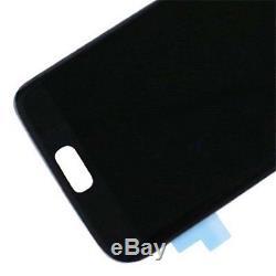 Pour Samsung Galaxy S7 Edge G935f G935 Écran LCD Numériseur Tactile Digitizer Schwarz