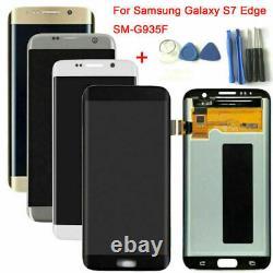 Pour Samsung Galaxy S7 G930/s7 Edge G935 G935f LCD Display Écran Tactile Numériseur