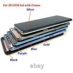 Pour Samsung Galaxy S8 G950 / S8+ Plus G955 LCD Display Écran Tactile Numériseur