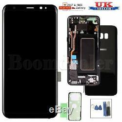 Pour Samsung Galaxy S8 G950 Sm-g950f Écran Tactile Digitizer & Frame Uk