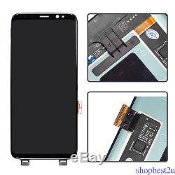 Pour Samsung Galaxy S8 G950a G950t G950v G950f Écran LCD Vitre Tactile Digitizer