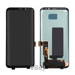 Pour Samsung Galaxy S8 S8 + Plus LCD Écran Tactile Digitizer Noir Assemblée