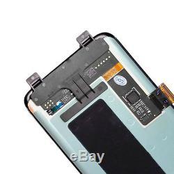 Pour Samsung Galaxy S8 Sm-g950f Plein Écran LCD Digitizer Noir