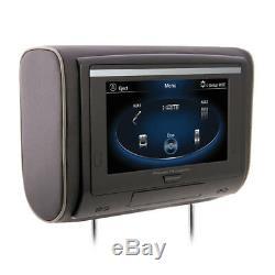 Power Acoustik Hdvd-94t 9 LCD Tactile Universel Têtière Moniteur / Lecteur DVD