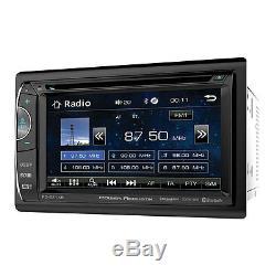 Power Acoustik Ph-620sxmb Lecteur De CD / DVD Double Din 6.2 LCD Bluetooth Sirius XM