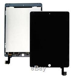 Remplacement De L'écran Tactile Du Numériseur LCD Pour Apple Ipad Air 2 A1566 A1567, Noir