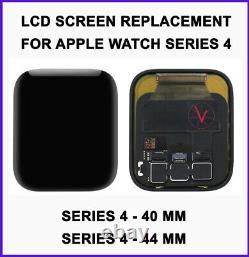 Remplacement LCD Avec Numériseur À Écran Tactile Pour Apple Watch Series 4 40 & 44 MM
