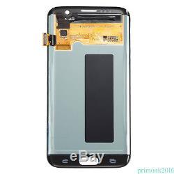 Remplacement Noir D'écran De Convertisseur Analogique-numérique D'affichage À Cristaux Liquides De Samsung Galaxy S7 Edge G935