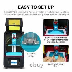 Royaume-uni Anycubic Sla LCD Photon Resin 3d Printer High Presion 2k 2.8 Écran Tactile