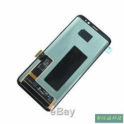 Royaume-uni Pour Samsung Galaxy S8 G950 Sm-g950f Noir Écran Tactile Digitizer