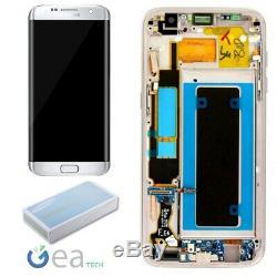 Samsung Écran LCD Originale + Écran Tactile Galaxy S7 Edge Sm-g935f Argent