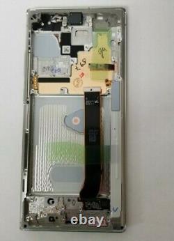Samsung Galaxie Note 20 Ultra Blanc LCD Tactile Écran Numériseur + Cadre N986 Oem