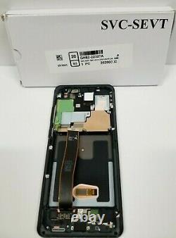 Samsung Galaxie S20 Ultra Noir Écran Tactile LCD Digitizer + Cadre G988 Oem Nouveau