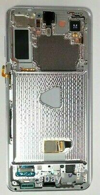 Samsung Galaxie S21 Plus 5g Argent LCD Tactile Écran Digitizer Frame G996 Oem Nouveau