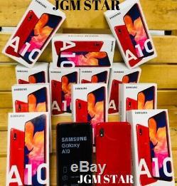 Samsung Galaxy A10 32 Go (a105) Red Fact Débloqué LCD 6,2 Pouces Nouveau Style 2019