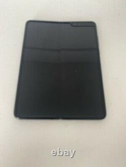 Samsung Galaxy Fold Sm-f900u 512 Go Cosmos Noir (at&t) Mauvais LCD 5t