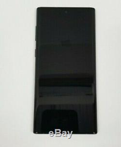 Samsung Galaxy Note 10 Black LCD Écran Tactile Digitizer + Cadre N970 Oem
