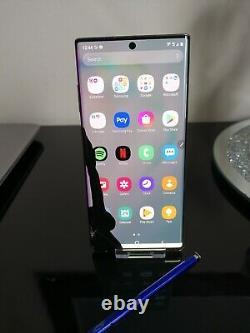 Samsung Galaxy Note 10 Plus 5g 256go Aura Glow Déverrouillé (lcd Endommagé & Dos)