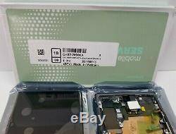 Samsung Galaxy Note 10 Plus Black LCD Écran D'affichage Digitizer + Cadre N975 Nouveau