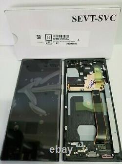 Samsung Galaxy Note 20 Ultra Black LCD Écran Digitizer Frame N986 Oem
