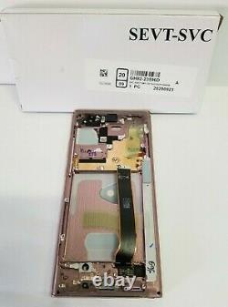 Samsung Galaxy Note 20 Ultra Bronze LCD Écran Digitizer Frame N986 Oem