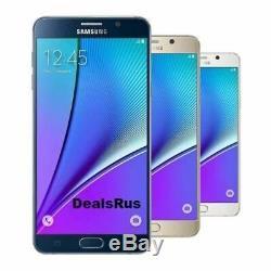 Samsung Galaxy Note 5 N920 32 Go Gsm Déverrouillé 4g Lte Smartphone +
