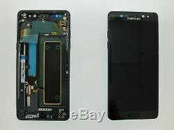 Samsung Galaxy Note 7 Fe N930f LCD Écran Tactile Ecran Original Noir