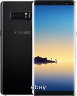 Samsung Galaxy Note 8 Sm-n950u 64 Go Gsm Déverrouillé Smartphone Dot Sur LCD