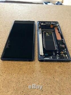 Samsung Galaxy Note 9 N960f LCD Écran Tactile Affichage Véritable Original Bleu C #