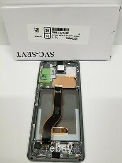 Samsung Galaxy S20 Plus 5g Silver LCD Écran Tactile Cadre G986 Oem S20+