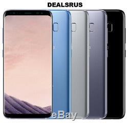 Samsung Galaxy S8 G950 Déverrouillé En Usine Avec Un Smartphone Android De 64 Go Sur Un LCD