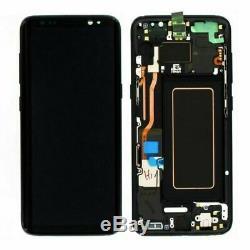 Samsung Galaxy S8 LCD De Remplacement D'écran + Écran Tactile Digitizer G950 Noir