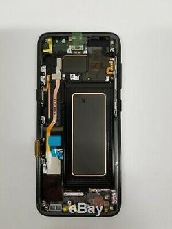 Samsung Galaxy S8 Noir LCD À Écran Tactile Digitizer + Cadre G950 Nouveau Oem