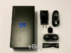 Samsung Galaxy S9 G960u T-mobile At & T Sprint Verizon Samsung Usine Débloqué