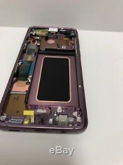 Samsung Galaxy S9 Plus Écran LCD À Écran Tactile Digitizer + Purple Frame S9 Plus