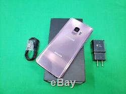 Samsung Galaxy S9 Sm-g960 64gb Violet Usine Unlocked A Burn Lcd. Excellent