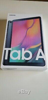 Samsung Galaxy Tab 10.1 Tablet Une Connexion Wi-fi 128go Noir (2019) Nouveau Scellés