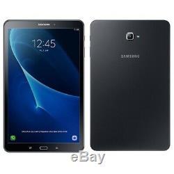 Samsung Galaxy Tab A6 2016 Sm-t585 16 Go Black 10.1 Débloqué, 4g Uk A + Stock