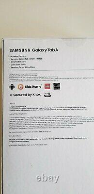 Samsung Galaxy Tab A 10.1 Wi-fi Tablet 128go Noir (2019) Nouveau Scellé