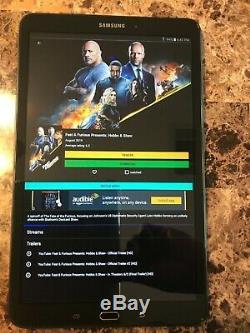 Samsung Galaxy Tab A Sm-t580 (10,1, 16 Go, 2 Go De Ram Wi-fi) Tablet Black 2
