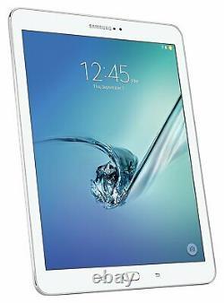 Samsung Galaxy Tab S2 9.7 Sm-t818v 32 Go Wi-fi + 4g Verizon Gsm Blanc Déverrouillé