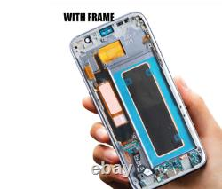 Samsung S7 Bord G935f LCD Display Écran Tactile De Remplacement Assemblage Gold Amoled