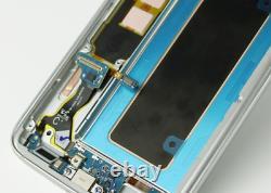 Samsung S7 Bord G935f LCD Display Écran Tactile De Remplacement Assemblage Noir Amoled