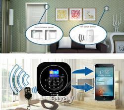 Sans Fil LCD Gsm Wifi Autodial Maison Bureau Sécurité Camion Intruder Alarme