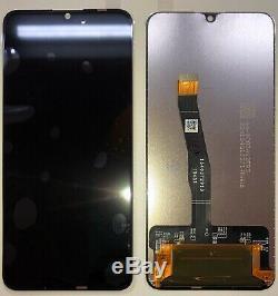 Schermo Vetro Affichage LCD À Écran Tactile Par Huawei P Intelligent 2019 Pot-lx1 Lx2 Nero