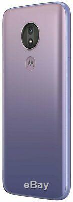 Sim Free Motorola G7 Puissance 6,24 Pouces LCD 4g 64 Go 4 Go 12mp Téléphone Mobile Violet