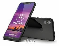 Sim Free Motorola One 5,9 Pouces LCD 64 Go 4 Go 15mp 4g Android Téléphone Portable Noir