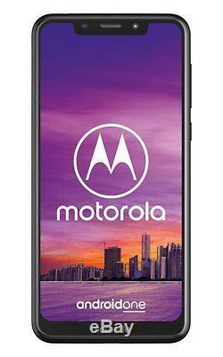 Sim Gratuit Motorola One 5,9 Pouces LCD 64gb 15mp 4k Uhd LCD Mobile Phone Noir