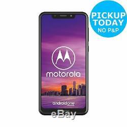 Sim Gratuit Motorola One 5,9 Pouces LCD 64gb 15mp Téléphone Mobile Noir