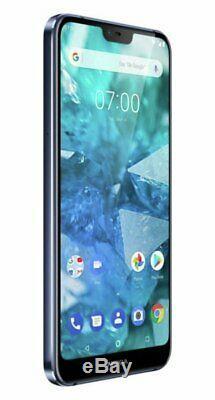 Sim Gratuit Nokia 7.1 32gb Duel LCD 5,8 Pouces Led Téléphone Mobile 5mp 4g Bleu